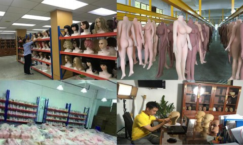 Sex Doll Produktioun Workshop
