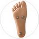 Opción de pies 168 de pie