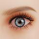 Augenfarbe Hellblau