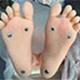 Fußoption Stehende Füße