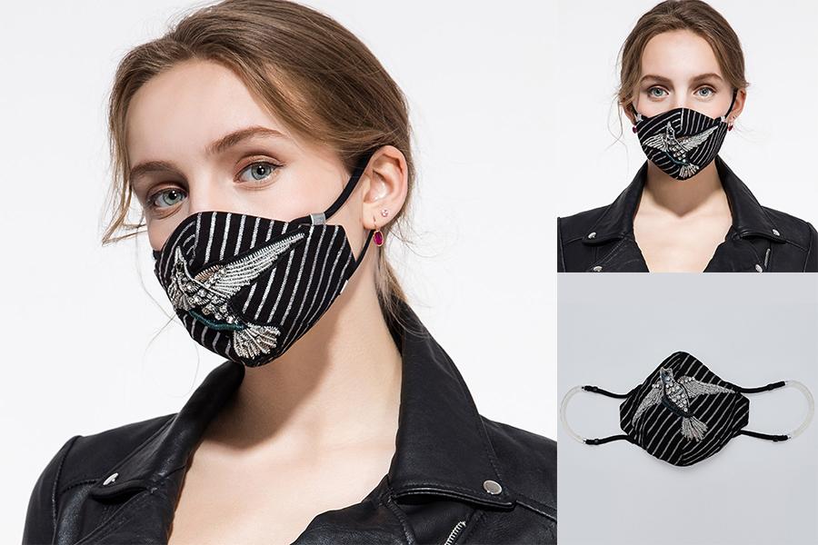Staubdicht und wiederverwendbar Verhindern Sie die neue Coronavirus Unisex-Gesichtsmaske