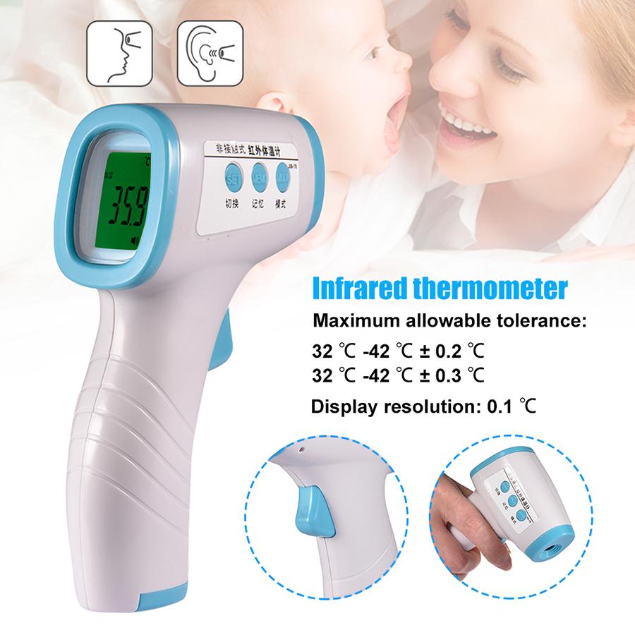 Stirnpistole Ohrthermometer Stirn berührungsloses Infrarot-Thermometer
