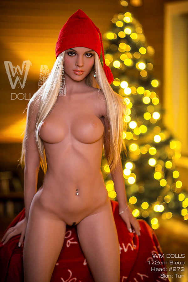 Josephine - 172CM B-cup WM NO.273 Head Tan Skin TPE Sex Doll-14