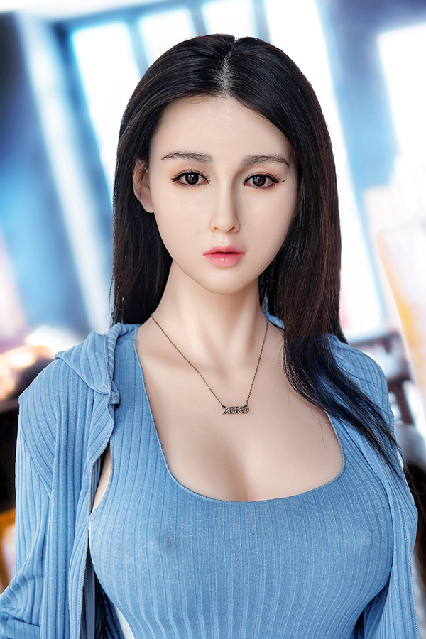 Gabrielle - 148CM Big Boobs Chinesischer Silikonkopf TPE Body Sex Doll