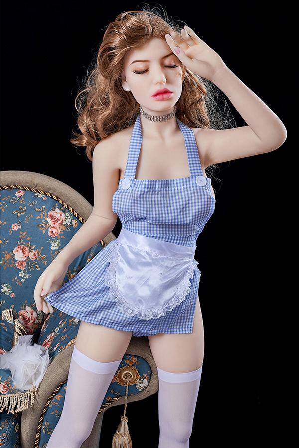 Aurorae - 145CM B Tasse Irontech Puppe Weiße Haut TPE Sex Puppe