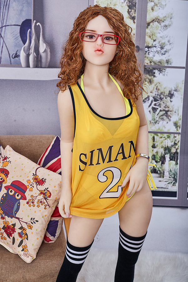 Nancye - 145CM Small Chest Pouting White Skin TPE Sex Doll-14
