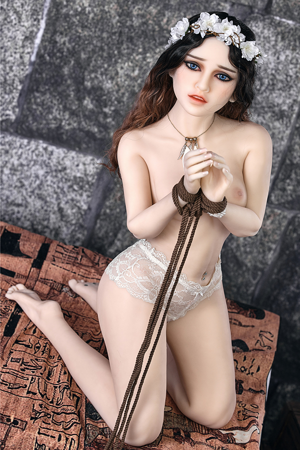 Victoria Fairytale - 150CM B cup Kidnapped Princess White Skin TPE Sex Doll-14