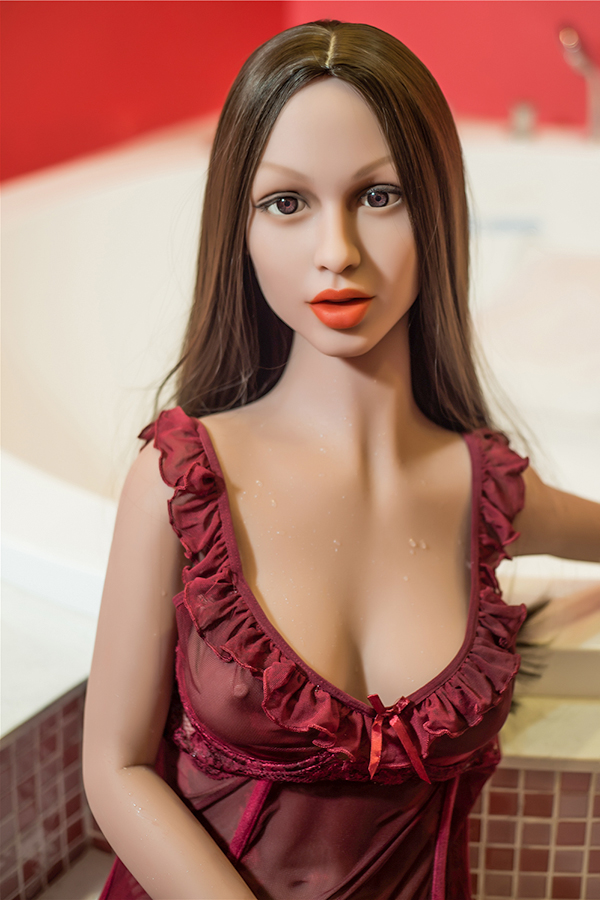Annar - 155CM Slender Young Woman Bathroom European Style TPE Sex Doll-14
