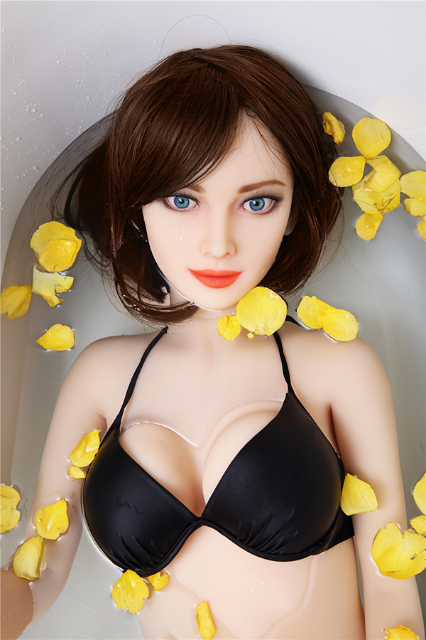 Hellen - 155CM Blue Eyes Pretty Girl White Skin TPE Sex Doll