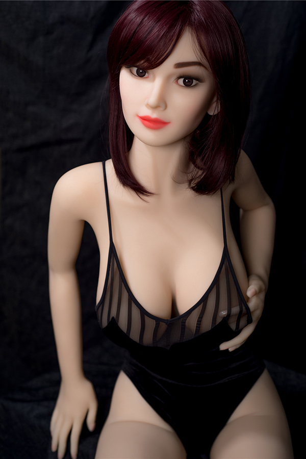 Denise - 157CM Pink Nipples Asian Baby Short Hair Girl TPE Sex Doll-14