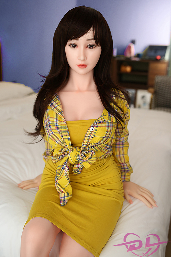 Xixi - 146CM DL Silicone Sex Doll Japanese Girl Fat Doodle Face Perfect Body-14