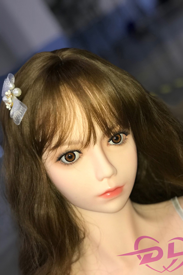 SanYing - 146CM DL Silicone Sex Doll Cute Maid Sexy Wildcat Real Makeup-4