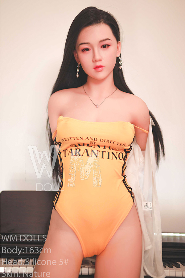 Larkin - 163CM C-cup WM Silicone Head Nature Skin TPE Sex Doll-20