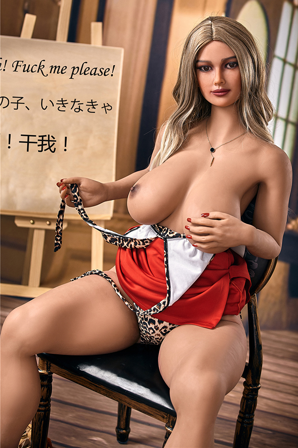 Audrey - 158CM Sexy Gesäß Adult Toys Model TPE Sex Doll