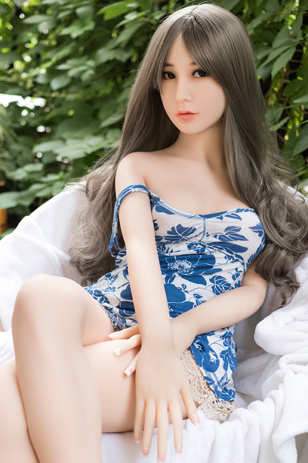 Veromca - 156CM Small Boobs WM NO.45 Head White Skin TPE Sex Doll-14