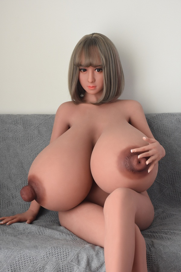 Donna - 160CM Oversized Breasts Huge Nipples Little Ass Girl TPE Sex Doll-56