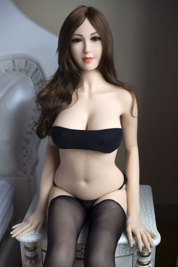 Hodgson - 165CM Exquisite Makeup Smiling Angel Cure Loneliness TPE Sex Doll-24