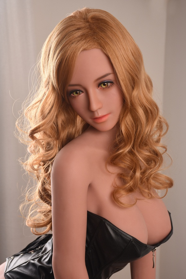 Isabel - 165CM Yellow Curly Hair Sexy Sister Captivate people TPE Sex Doll-24