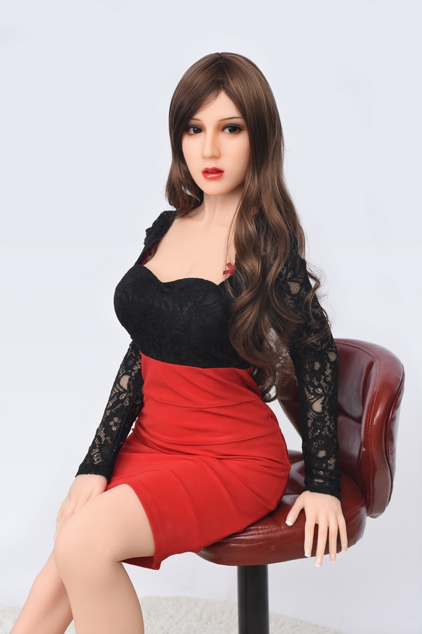 Joyce - 165CM Big Face Girl Oriental Beauty Gentle Elegant TPE Sex Doll-24