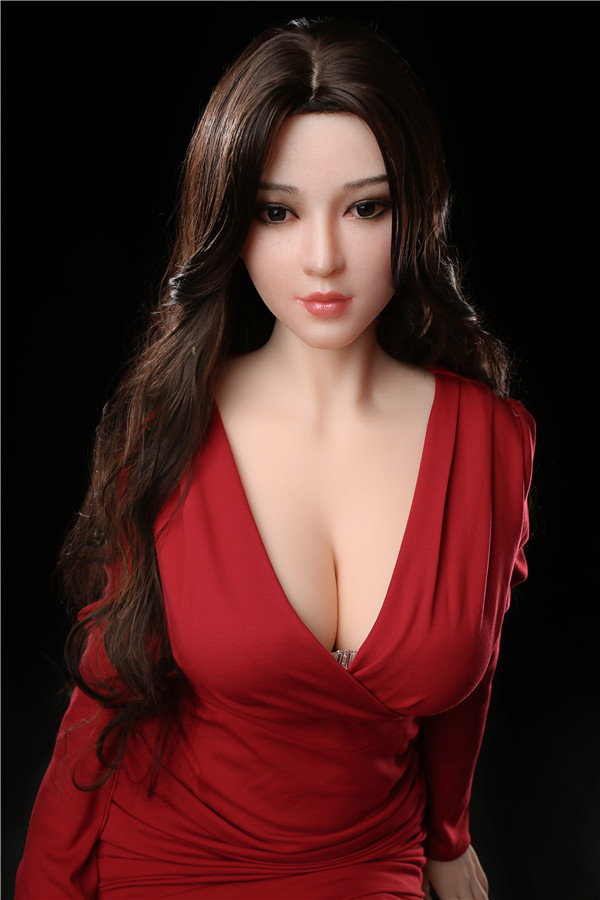 Hopkin - 165CM koreanische Schwester Big Boobs Realistic Touch Futuregirl TPE Sex Doll-58