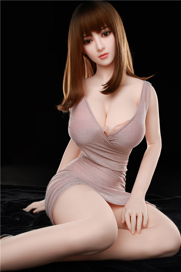 Carroll - 170CM Tall Girl Squelette Flexible Big Black Eyes Futuregirl TPE Sex Doll-26
