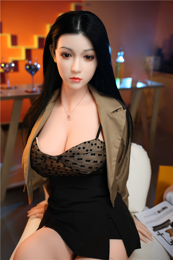 Yvonne - 165CM Sommelier Şarap Elçisi Çinli Lady Futuregirl TPE Seks Bebek-16