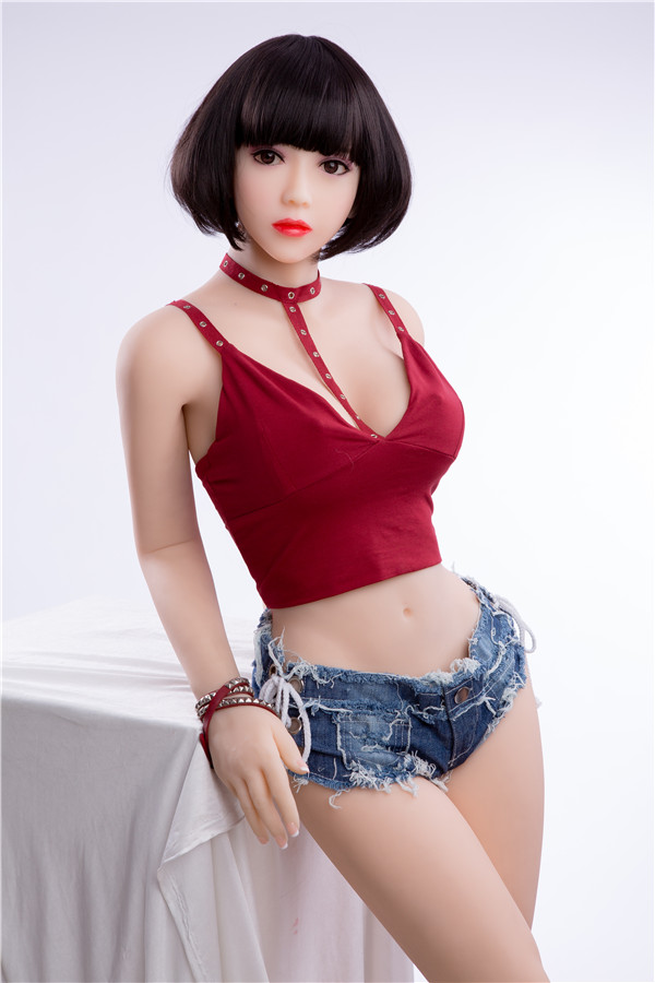 Hermosa - 156CM Asian Face Glutes Vita sottile Sex Slave Futuregirl TPE Sex Doll-16