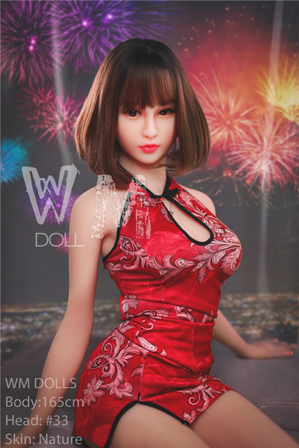 Donna - 165cm Cheongsam Goddess WM NO.33 Head Chinese Beauty TPE Sex Doll-64