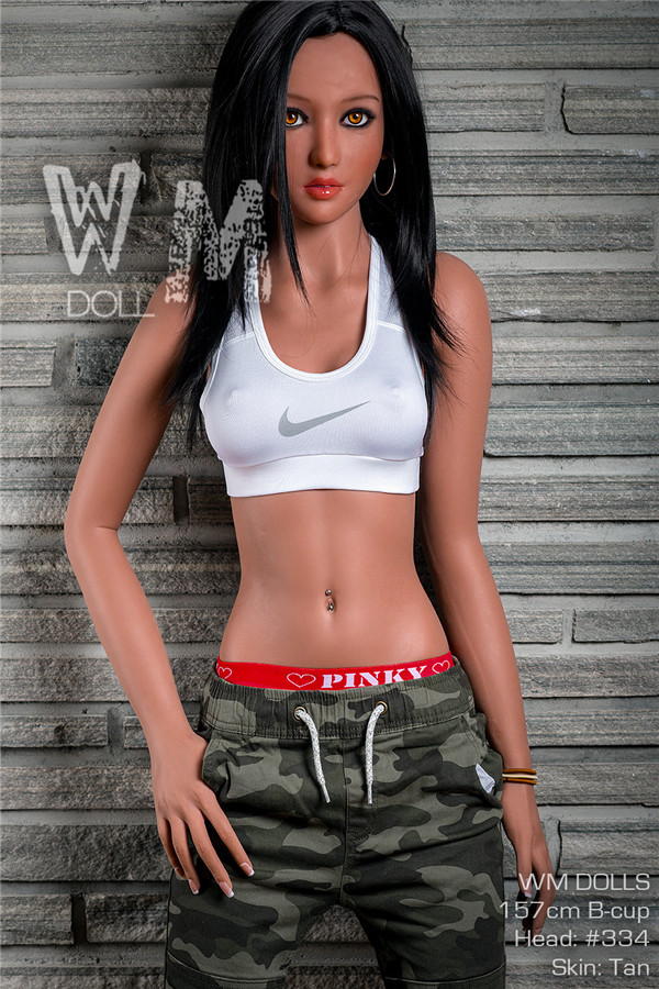 Galbraith - 157CM B-cup Athlete WM NO.334 Head Special Female Soldier Tan Skin TPE Sex Doll-52
