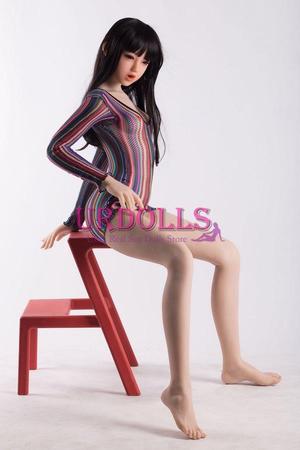 5'2 140cm tpe peu seins poupée sexuelle-19