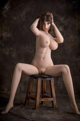 Sexy Long Legs Full Breasts Mannequin Evelyn Ann 168CM Adult Sex Doll TPE Life Partner