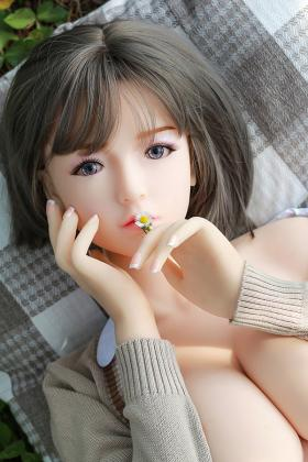 Skin White TPE Doll Cute Japanese Girl Tachibana Shinya 140CM Big Breasts
