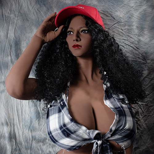 165CM Busty Black Skin Big Breasts Sex Doll Harvey Josh- ის ვიდეო