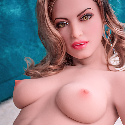 Video o európskom štýle B Cup Brown Eyes 160CM Sex Doll Sabina Coleridge