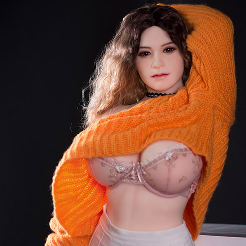 160 cm: n mustan silmän isot rinnat Stacey Bacon Sex Doll's Video